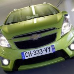 Spark Front Chevy Plate Wallpaper[0]